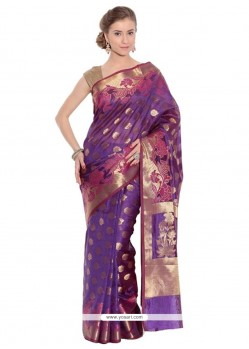 Imperial Weaving Work Traditional Saree