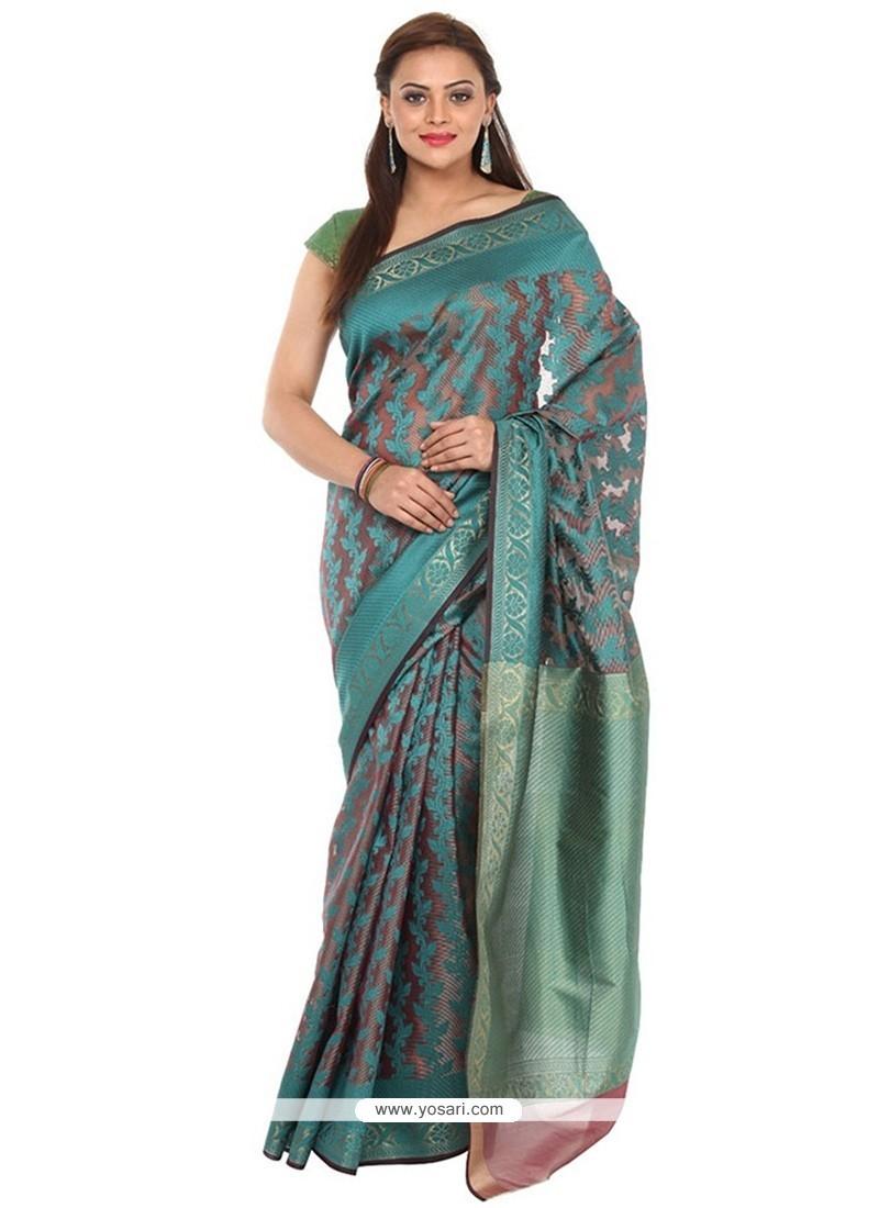 Splendid Art Silk Weaving Work Classic Saree