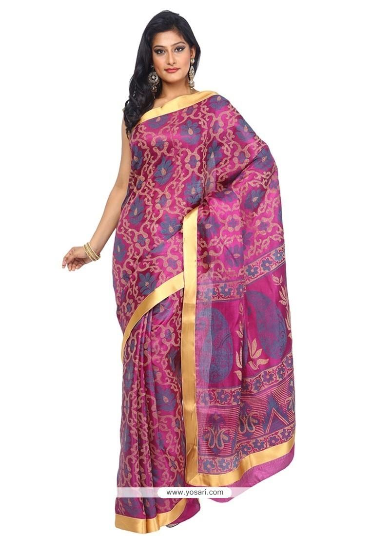 Splendid Tissue Multi Colour Trendy Saree
