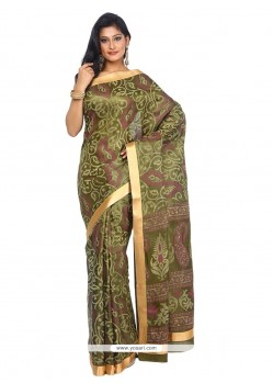 Honourable Tissue Multi Colour Classic Saree