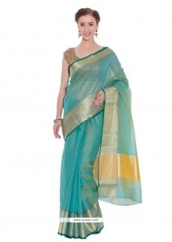 Remarkable Art Silk Weaving Work Classic Saree