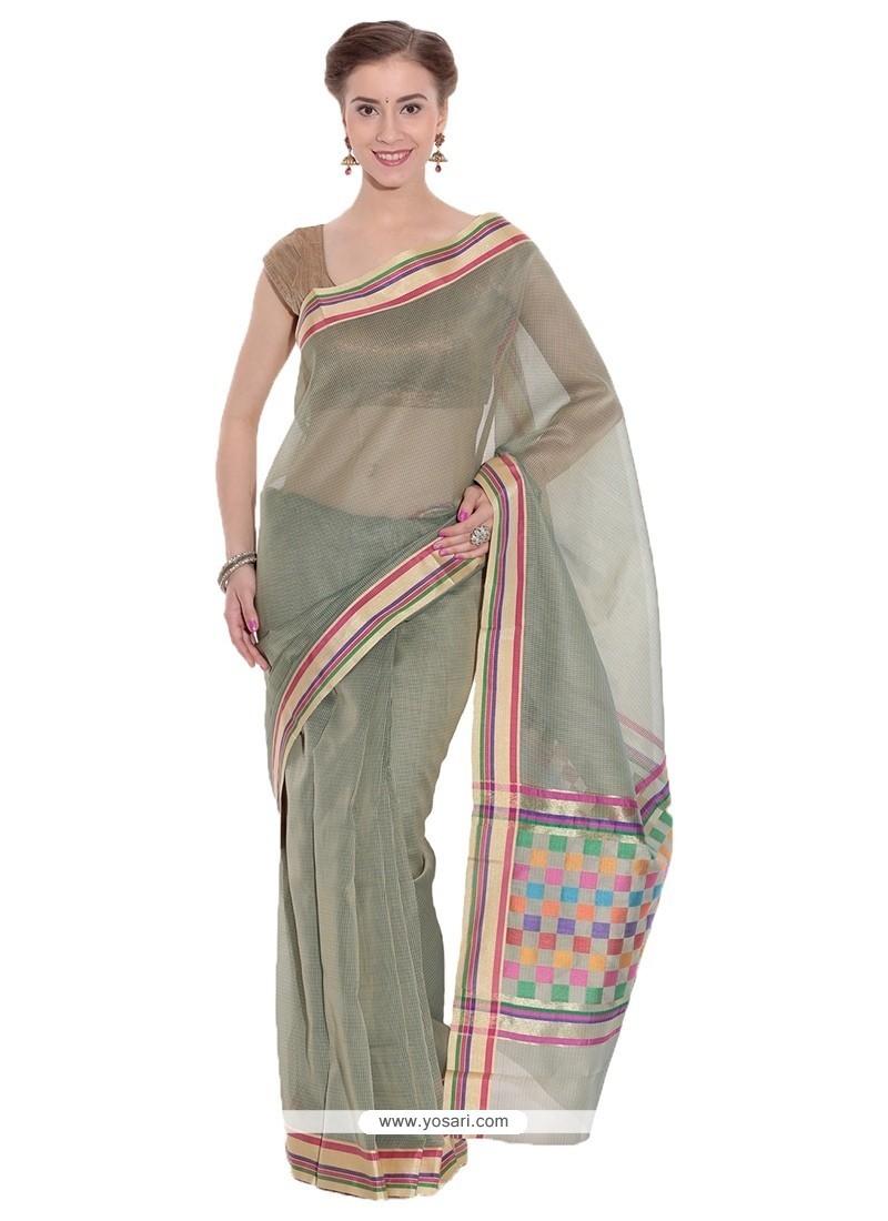 Imposing Weaving Work Trendy Saree