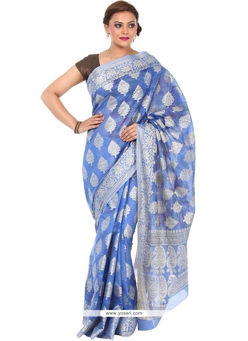 Glamorous Art Silk Weaving Work Classic Designer Saree