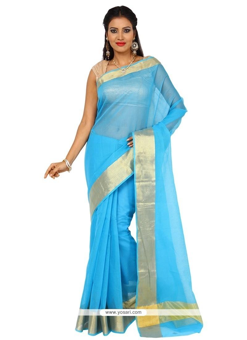 Aspiring Art Silk Weaving Work Classic Saree