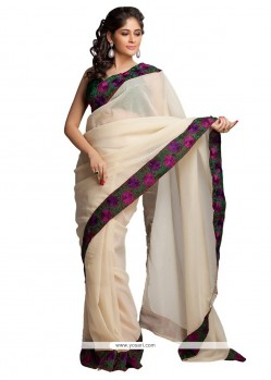 Compelling Weaving Work Fancy Fabric Traditional Saree