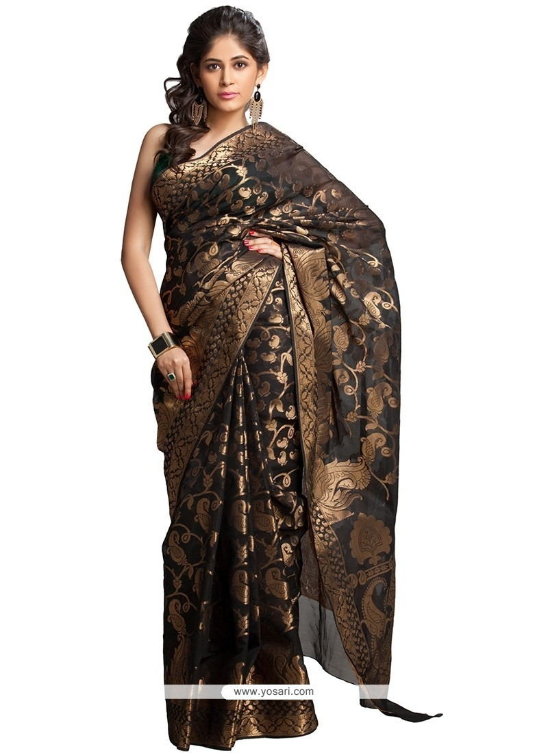 Modernistic Multi Colour Art Silk Traditional Saree
