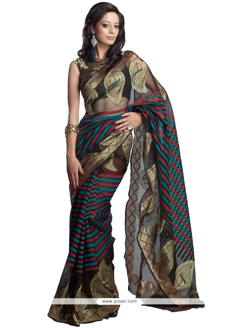 Chic Weaving Work Classic Saree