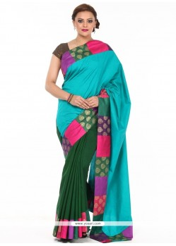 Magnetic Art Silk Weaving Work Classic Saree
