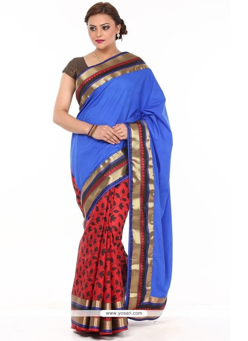 Modern Weaving Work Traditional Saree