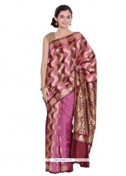 Conspicuous Art Silk Weaving Work Classic Designer Saree