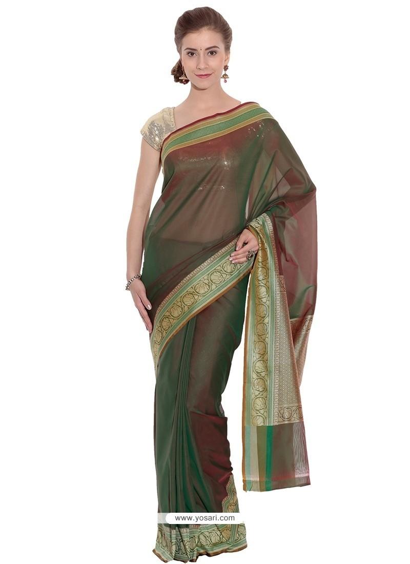 Fabulous Art Silk Traditional Saree
