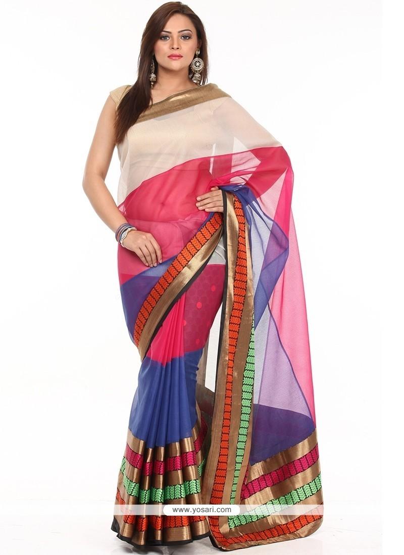Orphic Multi Colour Traditional Saree