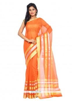 Sophisticated Art Silk Weaving Work Classic Saree