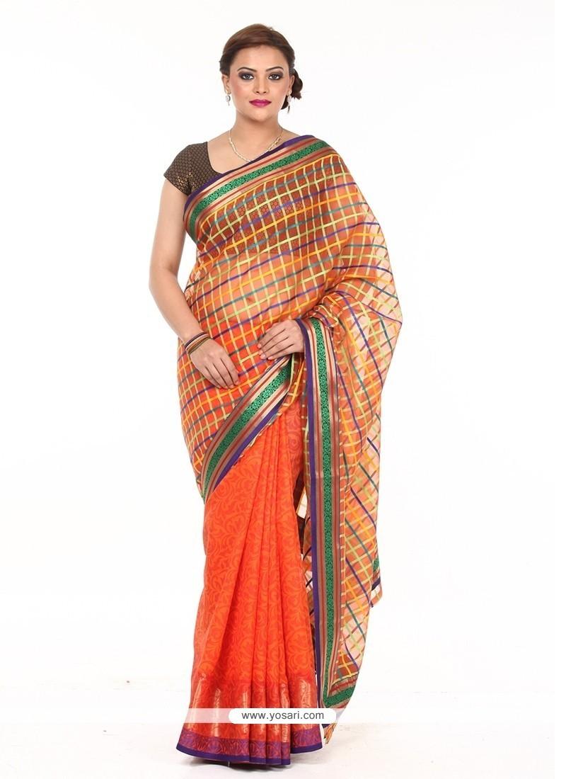 Monumental Art Silk Traditional Saree