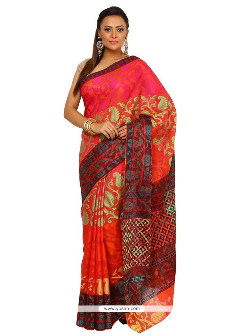 Orphic Art Silk Classic Saree