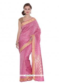 Brilliant Weaving Work Art Silk Classic Designer Saree