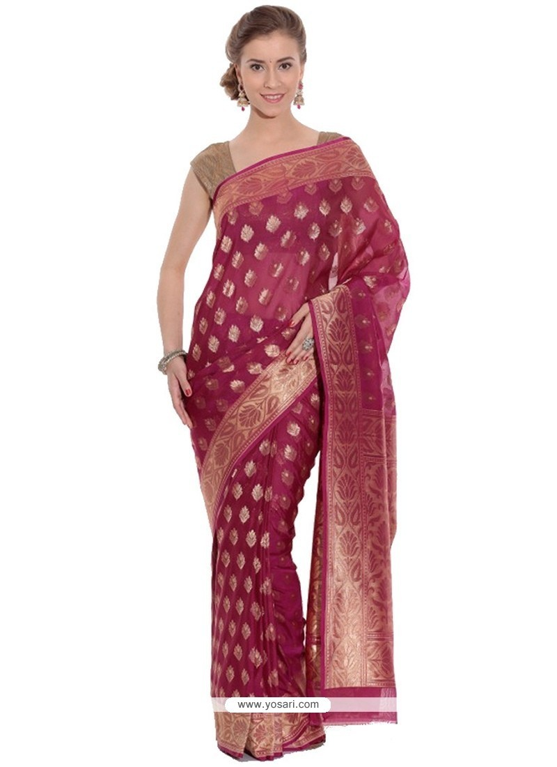 Nice Art Silk Weaving Work Traditional Saree