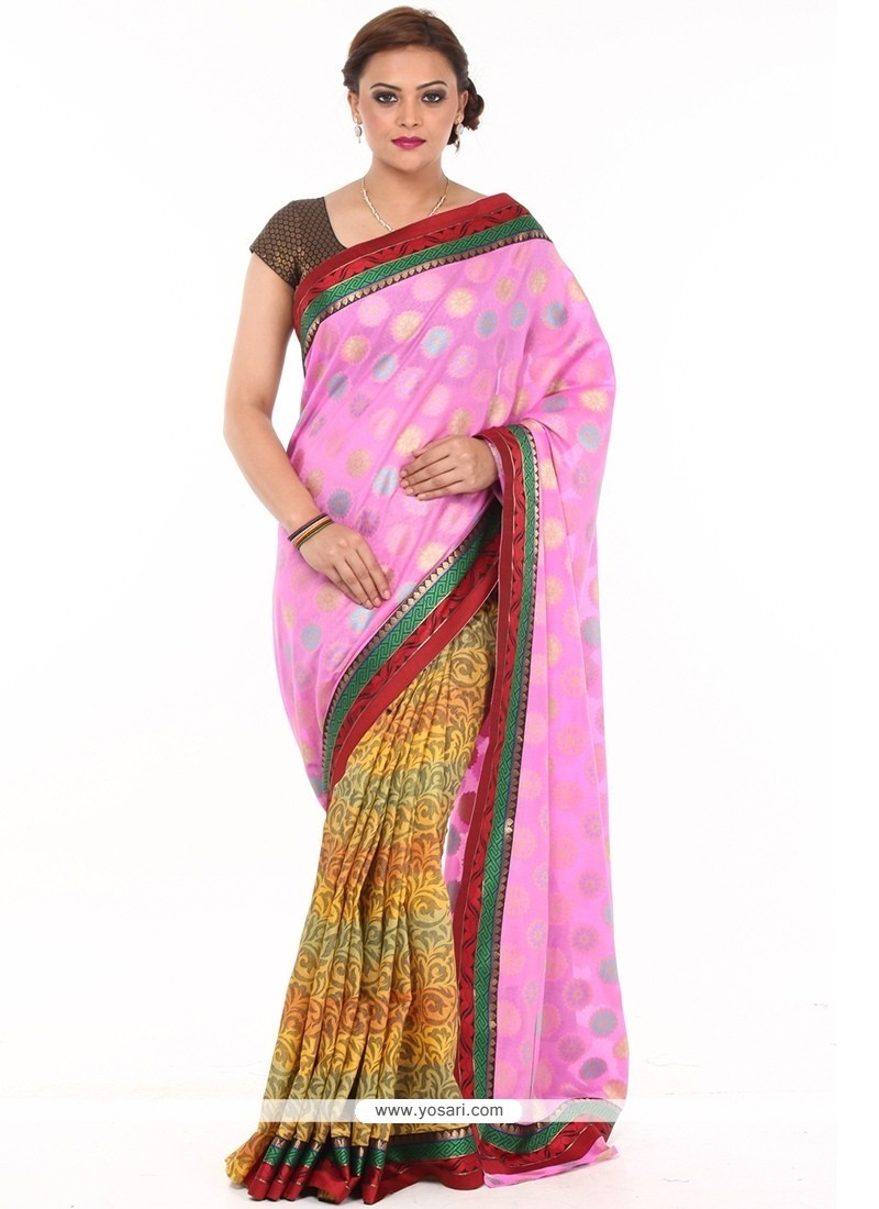 Lively Cotton Designer Traditional Sarees