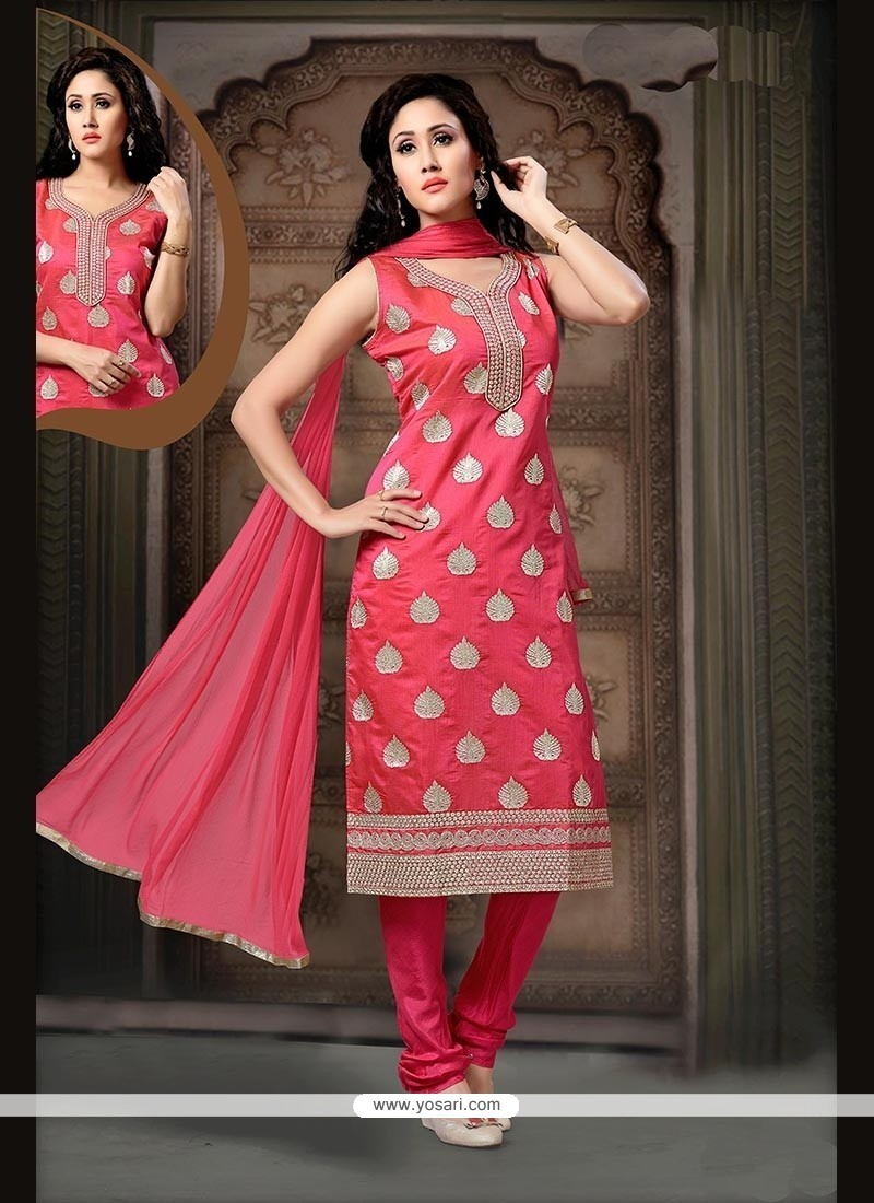 Exceptional Embroidered Work Readymade Suit