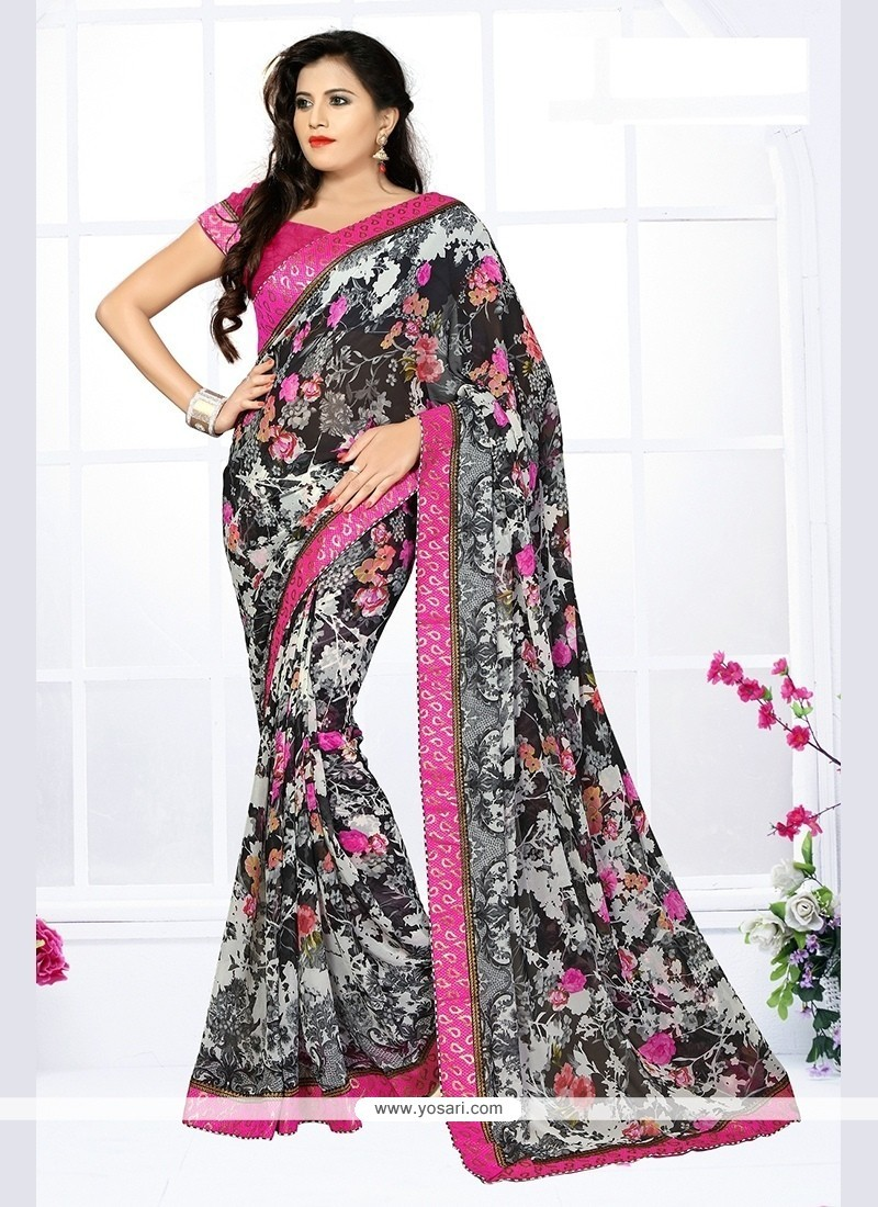 Majesty Printed Saree For Party