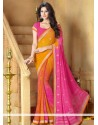 Multicolor Faux Chiffon Casual Saree