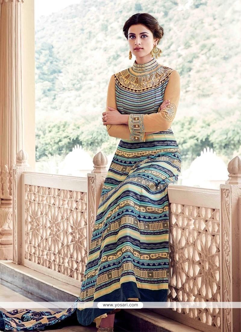 Elegant Multi Colour Anarkali Salwar Kameez