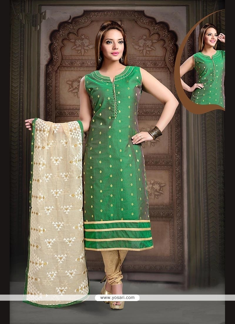 Sonorous Embroidered Work Readymade Suit