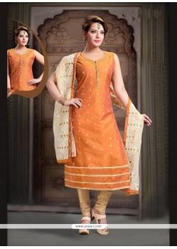 Mod Orange Readymade Suit