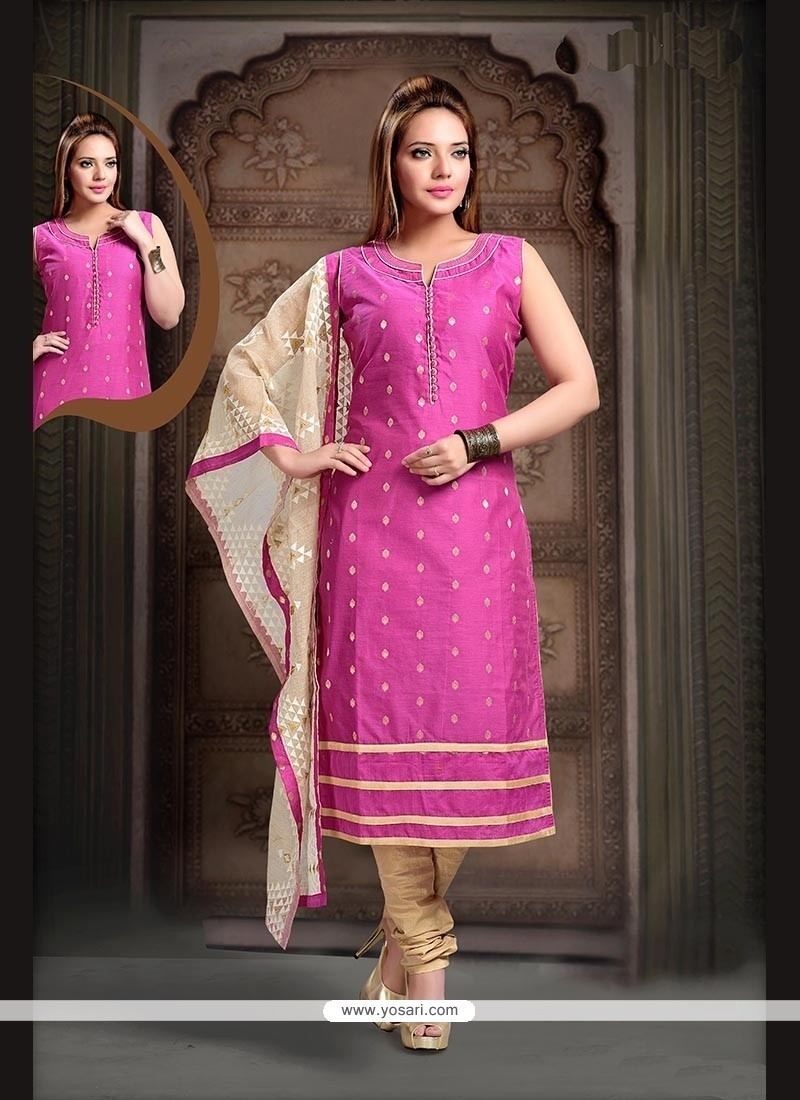 Observable Hot Pink Readymade Suit