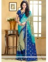 Markable Multicolor Chiffon Saree