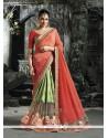Stunning Green Designer Traditional Sarees