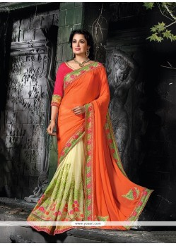 Auspicious Faux Chiffon Traditional Saree