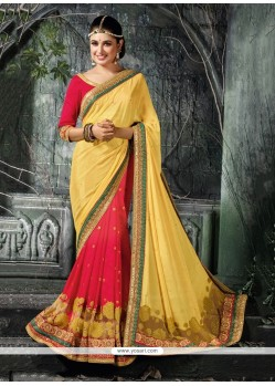 Glamorous Classic Designer Saree For Wedding