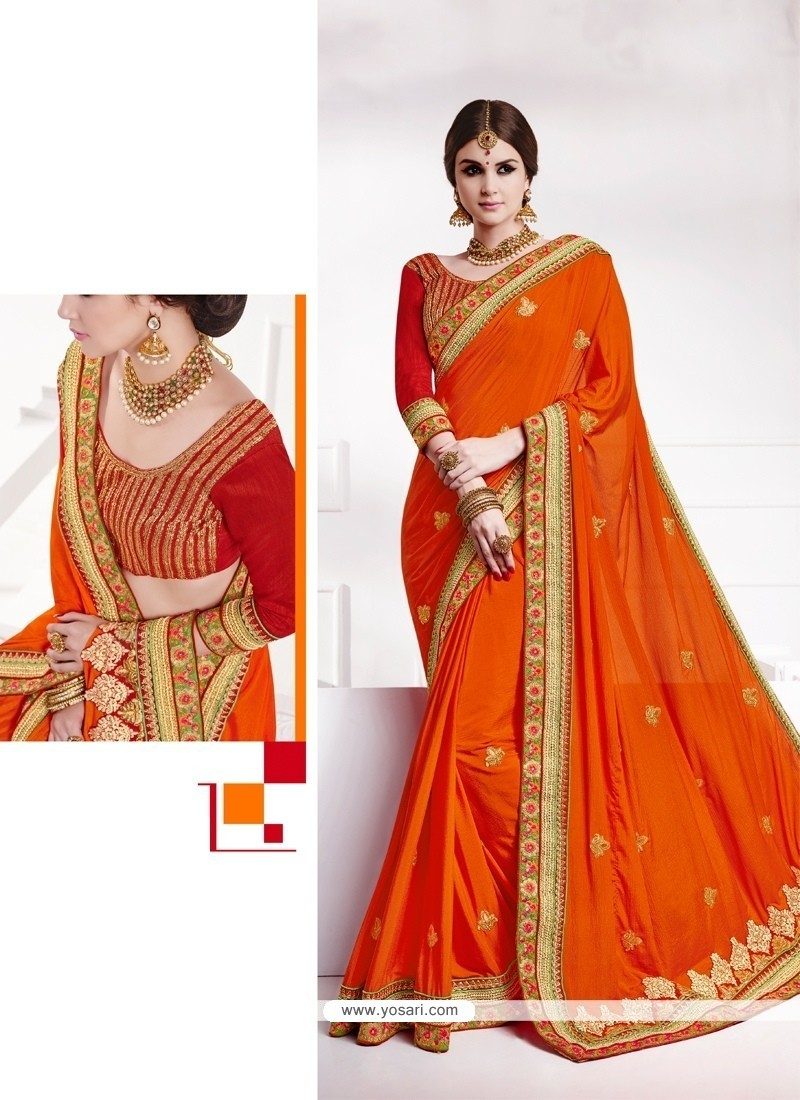 Lovable Embroidered Work Traditional Designer Sarees