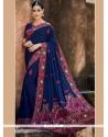 Demure Classic Designer Saree For Bridal