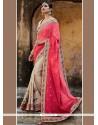 Refreshing Designer Half N Half Saree For Wedding