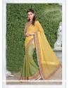 Subtle Georgette Green Trendy Saree