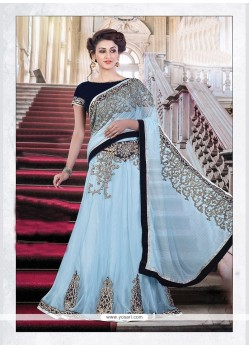 Masterly Net Lehenga Saree