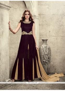 Ruritanian Velvet Designer Salwar Suit