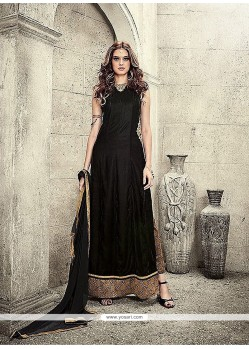 Aesthetic Black Designer Salwar Suit