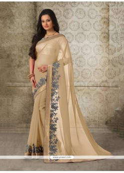 Tantalizing Georgette Casual Saree