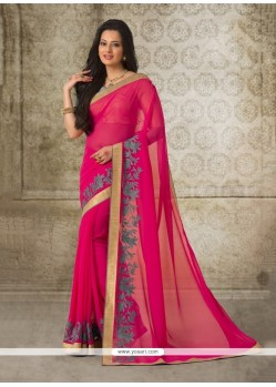 Fantastic Georgette Casual Saree
