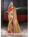 Swanky Embroidered Work Designer Traditional Sarees