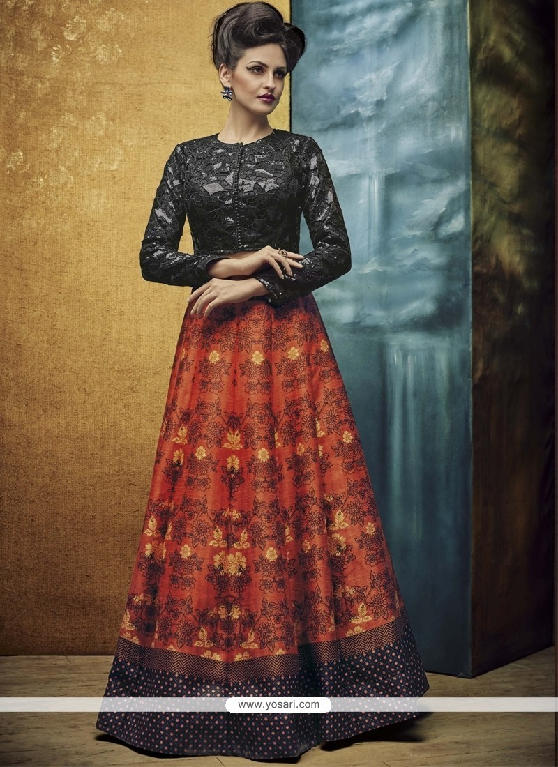 Superb Banglori Silk Multi Colour A Line Lehenga Choli