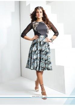 Piquant Banglori Silk Party Wear Kurti