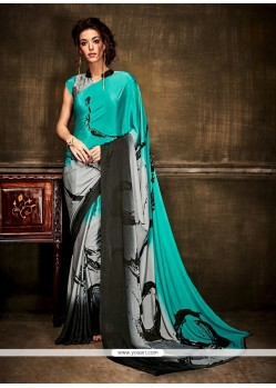 Glowing Crepe Silk Casual Saree
