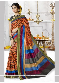 Sterling Multi Colour Casual Saree