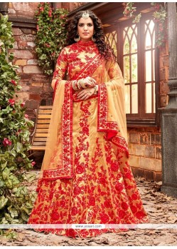 Cute A Line Lehenga Choli For Wedding