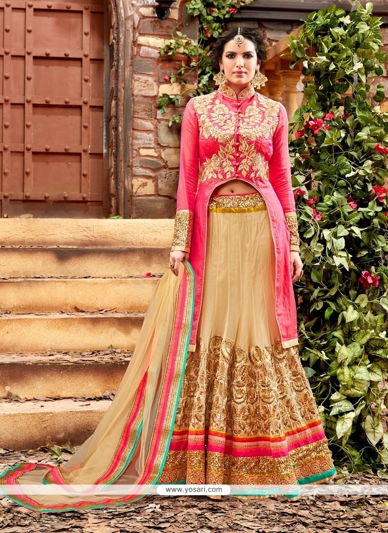 Voluptuous Patch Border Work A Line Lehenga Choli