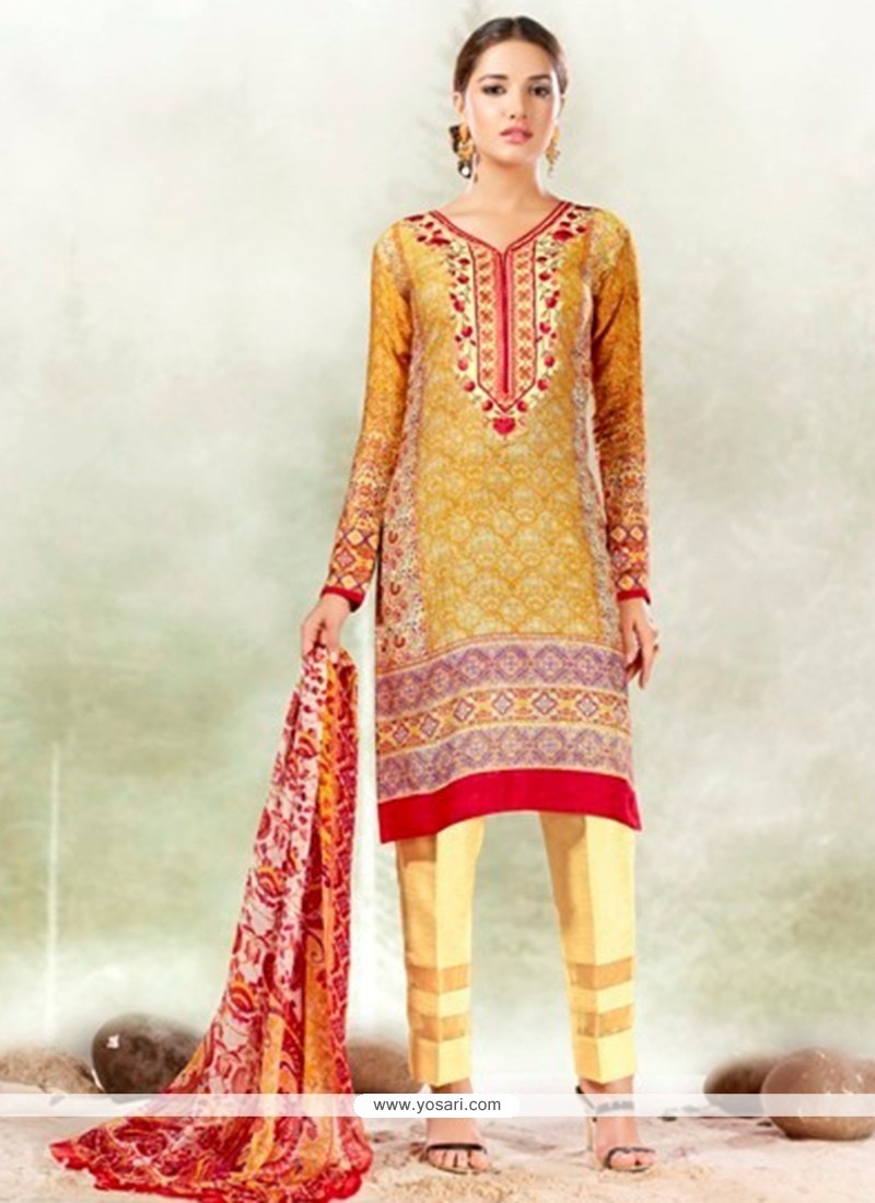 Fashionable Multi Colour Designer Suit